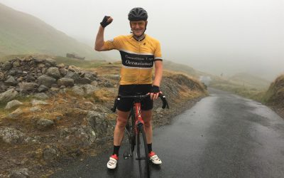 Told he would never cycle again, Andy takes on the 100 steepest climbs challenge